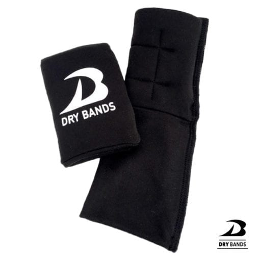 DRYbands are gymnastics wrist protectors that reduce sweat and stop rips