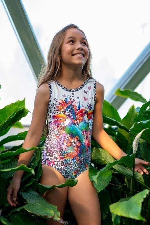 Toucan Time Gymnastics Leotard
