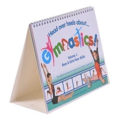 A book to help learn gymnastics floor skills
