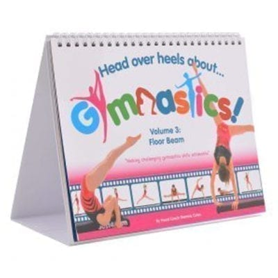 Learn advanced gymnastics skills with this training book