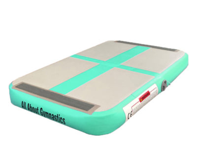 inflatable Air board for gymnastics is used as a springboard