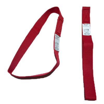 A strap used by gymnasts when training on bars