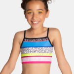 Children's cropped singlet by sylvia p