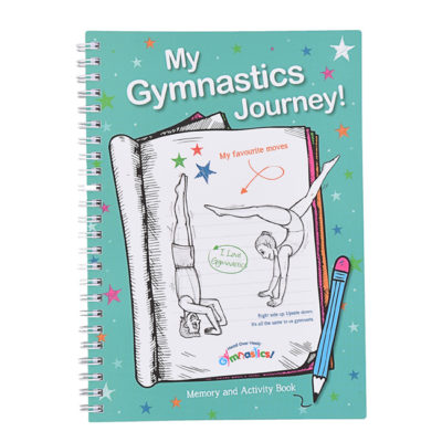 Gymnastics diary so gymnasts can record skills and sports events