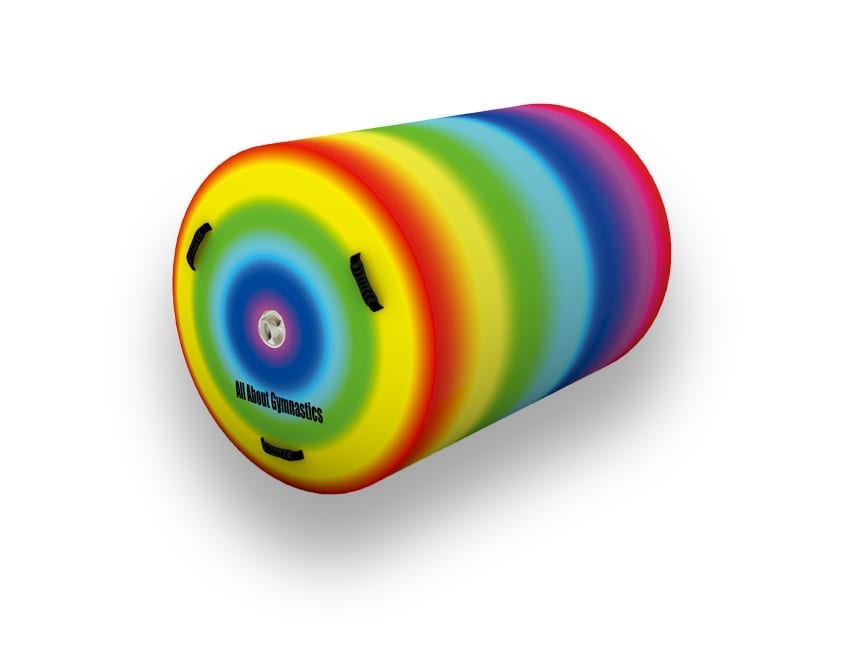 Rainbow Air Roll Gymnastics