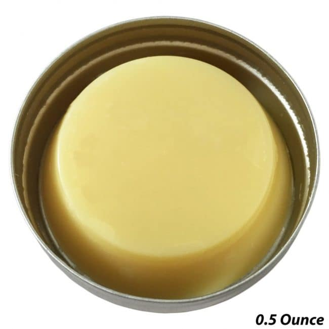 Healing balm for gymnastics and rock climbing skin rips