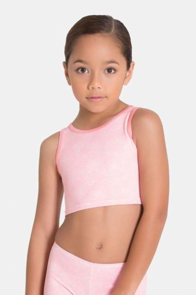 girls cropped singlet by sylvia p