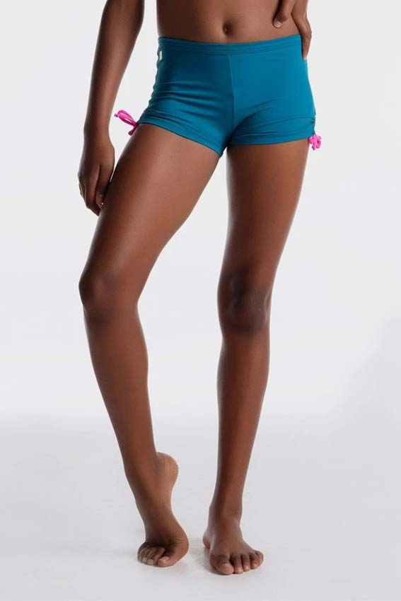 Girls gymnastics activewear shorts by sylvia p