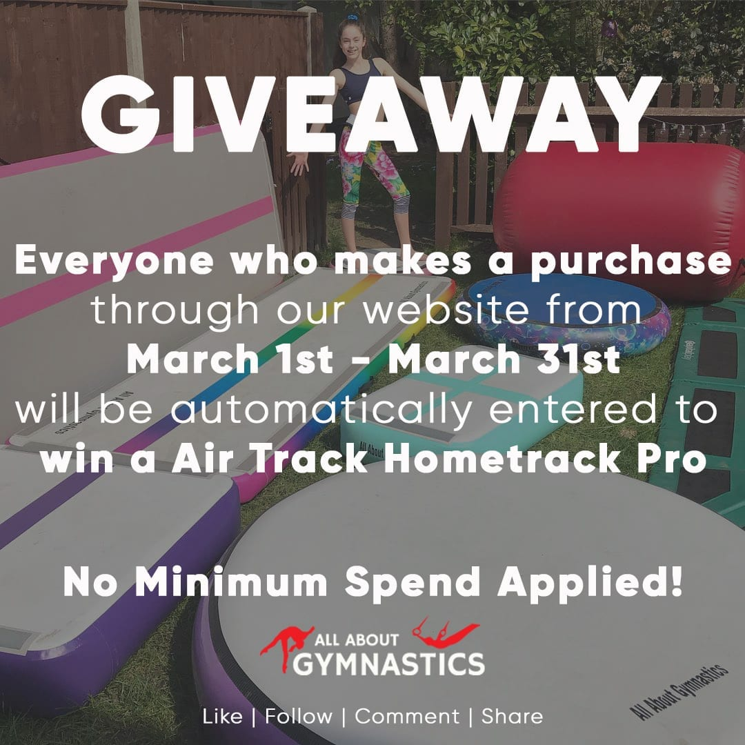 Win an Air Track Hometrack Pro