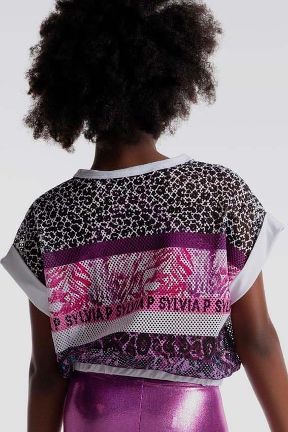 Girls top by Sylvia P activewear