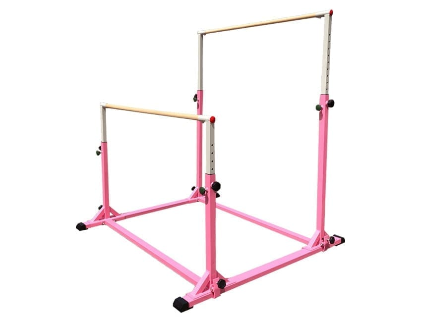 Children's Gymnastics Bars in pink