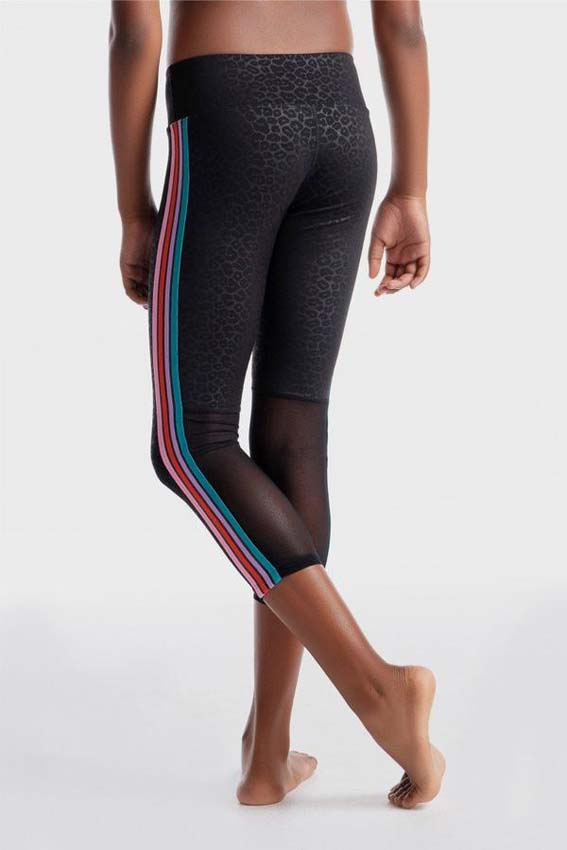 Girls gymnastics activewear leggings by sylvia p