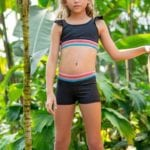Girls crop top by Sylvia P activewear